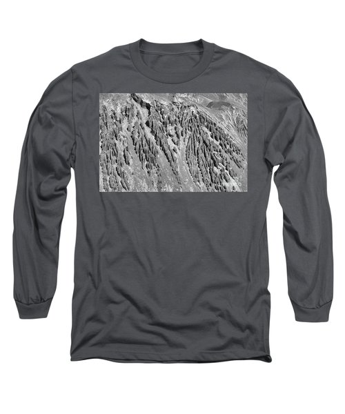 Sands Of Time Monochrome Art By Kaylyn Franks  Long Sleeve T-Shirt