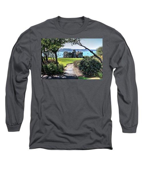 Sandsfoot Castle Weymouth Uk Long Sleeve T-Shirt
