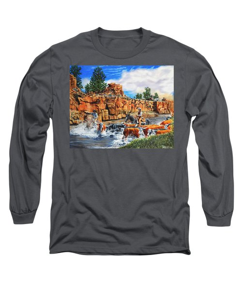 Sandstone Crossing Long Sleeve T-Shirt by Ruanna Sion Shadd a'Dann'l