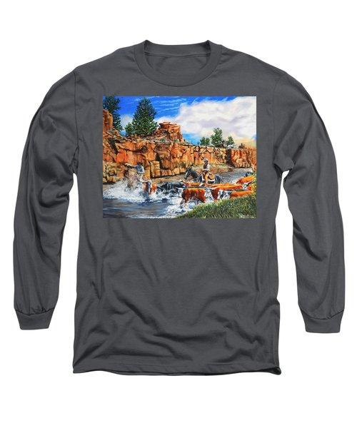 Sandstone Crossing Long Sleeve T-Shirt