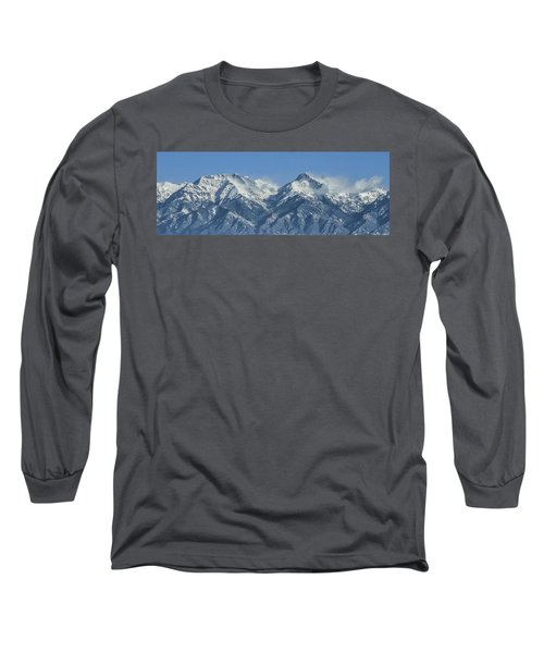 Sangre De Cristo Fourteeners Long Sleeve T-Shirt