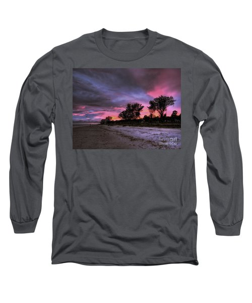 Sanibel Island Twilight Long Sleeve T-Shirt