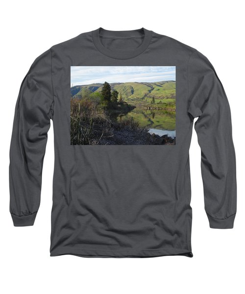 Sans White Caps Long Sleeve T-Shirt