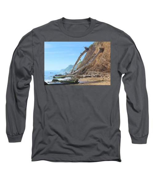 Long Sleeve T-Shirt featuring the photograph Santa Barbara Coast by Viktor Savchenko
