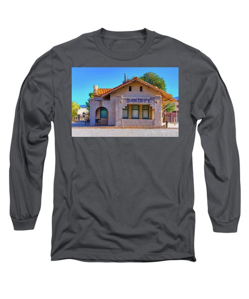 Long Sleeve T-Shirt featuring the photograph Santa Fe Station by Stephen Anderson