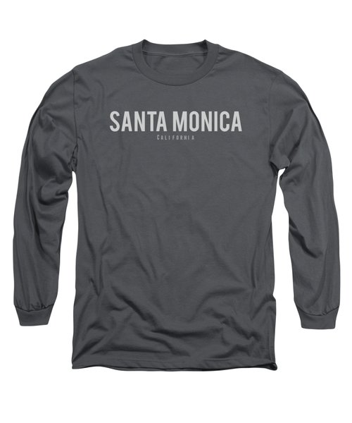 Santa Monica California Long Sleeve T-Shirt