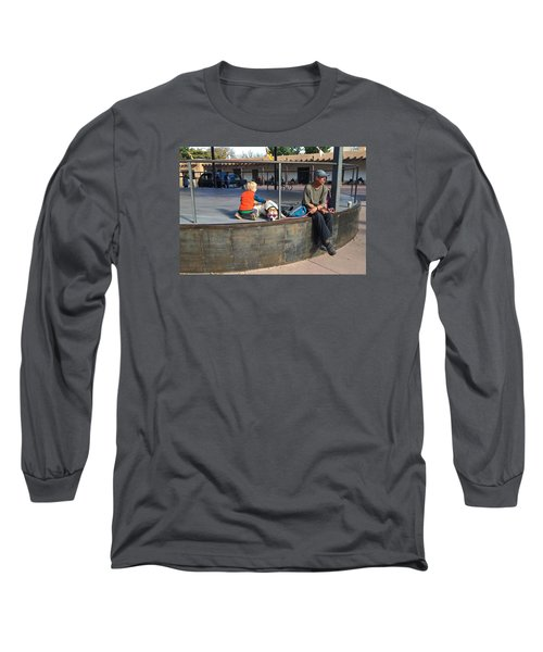 Long Sleeve T-Shirt featuring the photograph Sante Fe Chill by Brenda Pressnall