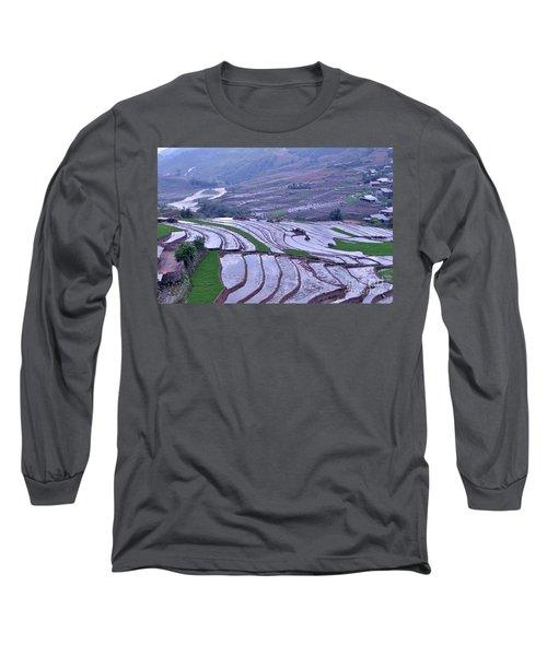 Sapa Rice Paddies Long Sleeve T-Shirt