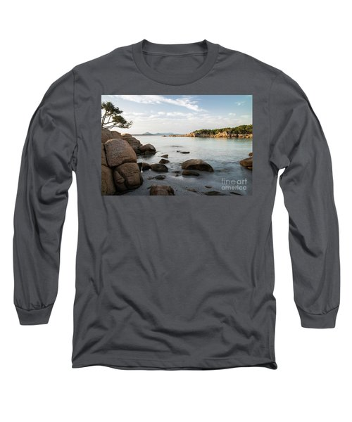 Sardinian Coast Long Sleeve T-Shirt by Yuri Santin