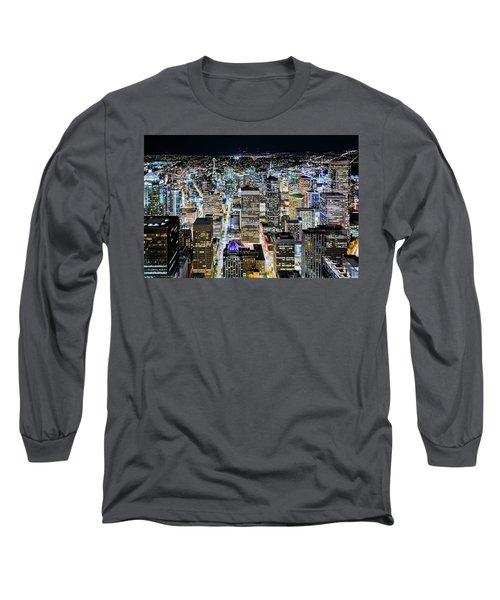 Seattle Lights Long Sleeve T-Shirt