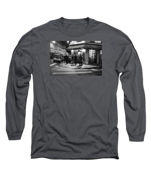 Saturday Evening In Paris Long Sleeve T-Shirt by Hugh Smith