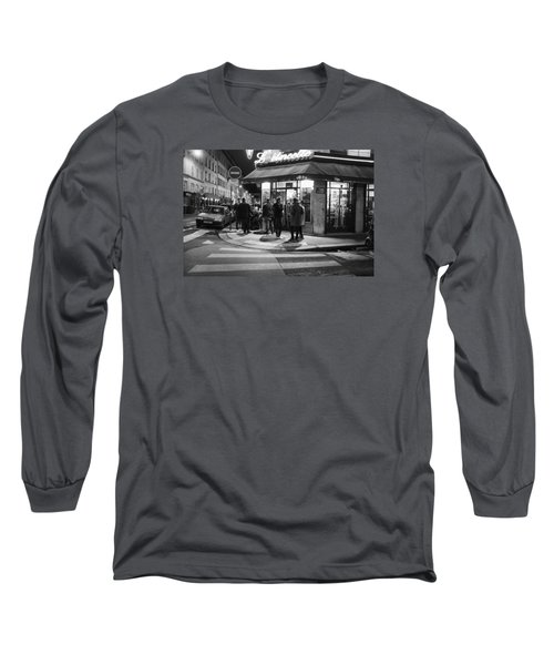 Saturday Evening In Paris Long Sleeve T-Shirt