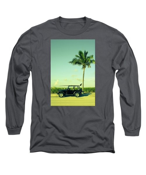 Long Sleeve T-Shirt featuring the photograph Saturday by Laura Fasulo