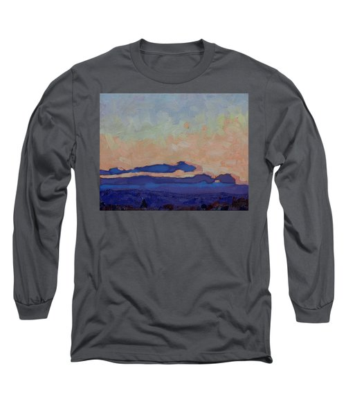 Saturday Stratocumulus Sunset Long Sleeve T-Shirt