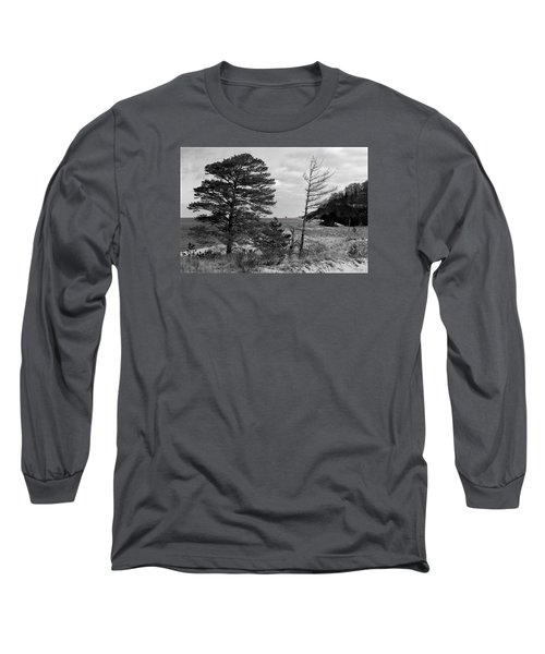 Saugatuck State Park In November Long Sleeve T-Shirt
