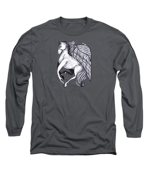 Save The Wild Mustangs Long Sleeve T-Shirt