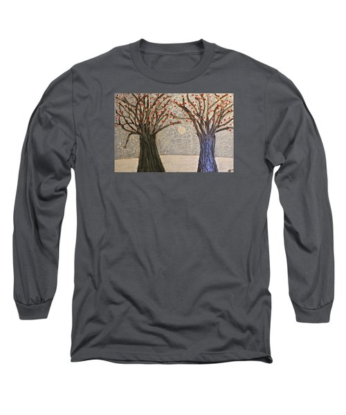 Sawsan's Trees Long Sleeve T-Shirt by Mario Perron