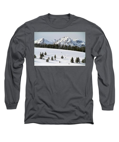 Sawtooth Wilderness Central Idaho Long Sleeve T-Shirt