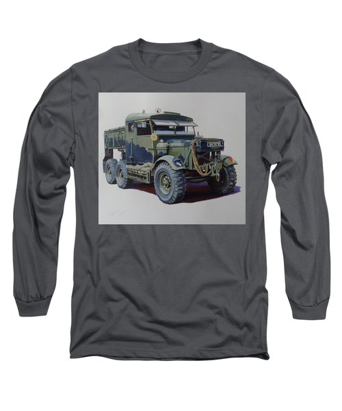 Scammell Pioneer Wrecker. Long Sleeve T-Shirt by Mike  Jeffries