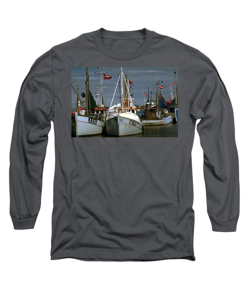 Scandinavian Fisher Boats Long Sleeve T-Shirt