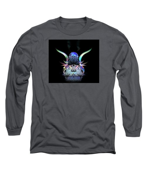 Scarab Long Sleeve T-Shirt by Julie Grace