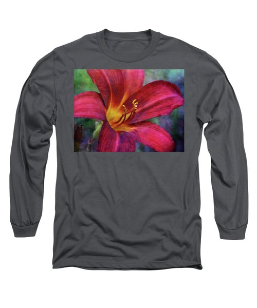 Scarlet And Gold Dust 3716 Idp_2 Long Sleeve T-Shirt