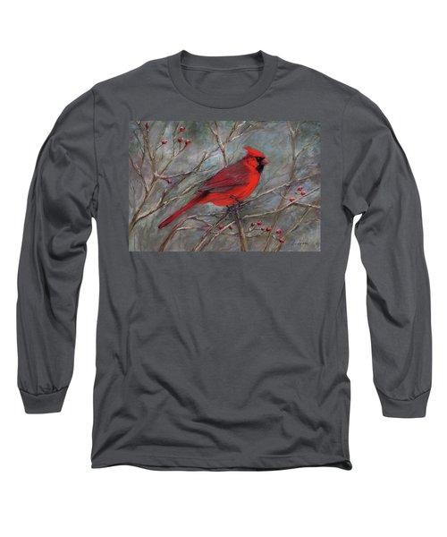 Scarlet Sentinel Long Sleeve T-Shirt