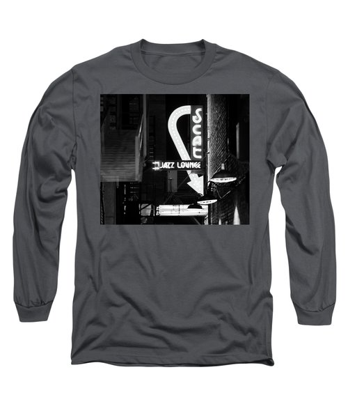 Scat Jazz Bw 11217 Long Sleeve T-Shirt