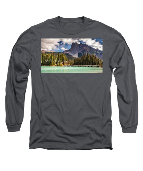 Scenic Emerald Lake  Long Sleeve T-Shirt