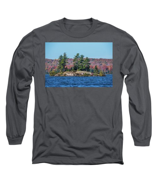 Long Sleeve T-Shirt featuring the photograph Scenic Fall View by Paul Freidlund