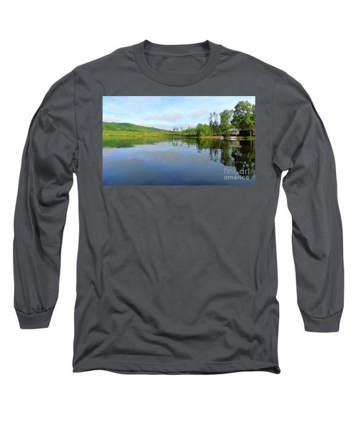 Scenic Gorham Pond #1 Long Sleeve T-Shirt