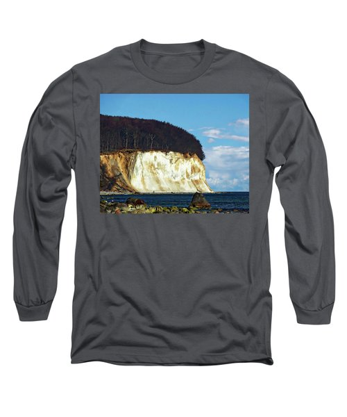 Scenic Rugen Island Long Sleeve T-Shirt by Anthony Dezenzio