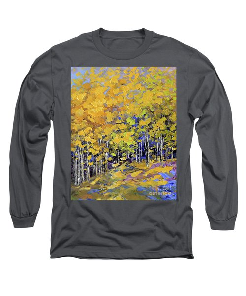 Scented Woods Long Sleeve T-Shirt by Tatiana Iliina
