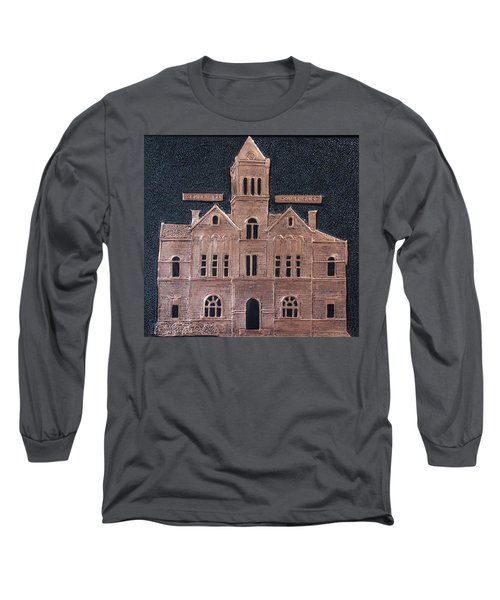 Schley County, Georgia Courthouse Long Sleeve T-Shirt
