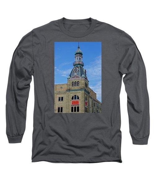 Schlitz Brewing Company 8 Long Sleeve T-Shirt by Susan  McMenamin