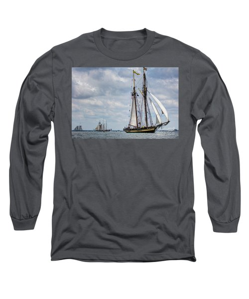 Schooner Pride Of Baltimore Long Sleeve T-Shirt