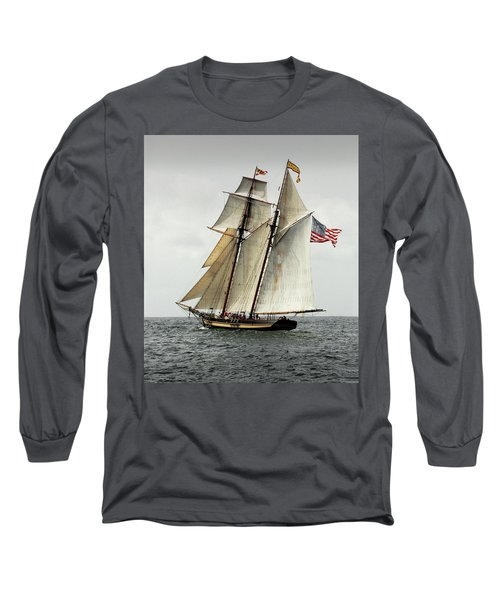 Schooner Pride Of Baltimore II Long Sleeve T-Shirt