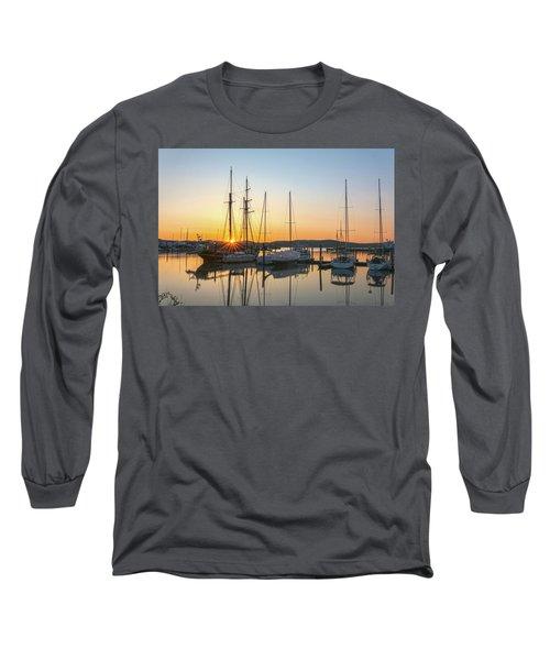 Schooners Sunburst Long Sleeve T-Shirt by Angelo Marcialis