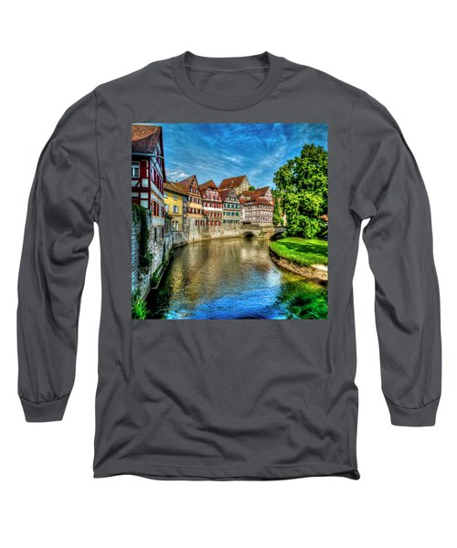 Long Sleeve T-Shirt featuring the photograph Schwabish Hall by David Morefield