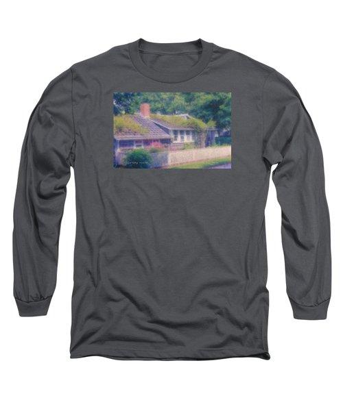 Sconset Cottage #3 Long Sleeve T-Shirt