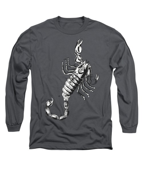 Scorpio Zodiac Sign Vintage Tee Long Sleeve T-Shirt