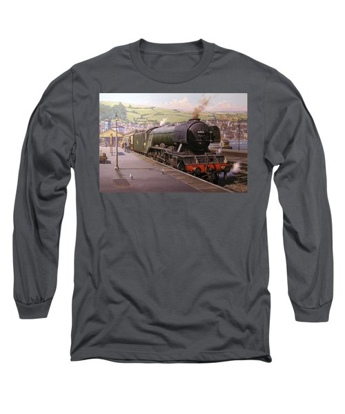 Scotsman At Kingswear Long Sleeve T-Shirt