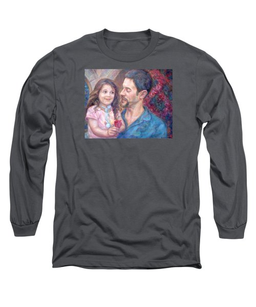 Scott And Sam Commission Long Sleeve T-Shirt by Quin Sweetman