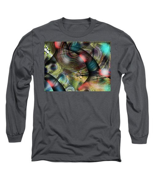 Screaming Spirals Long Sleeve T-Shirt