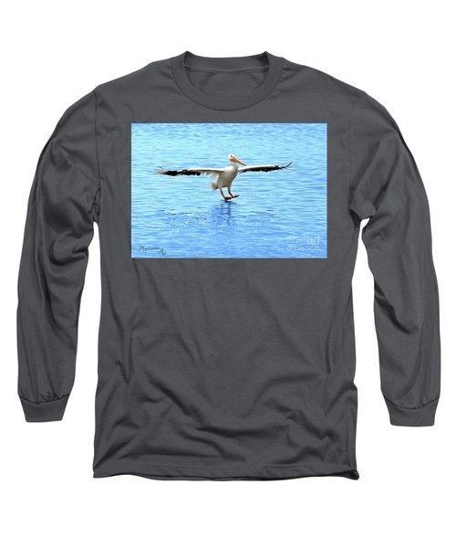 Screeching Halt Long Sleeve T-Shirt by Mariarosa Rockefeller