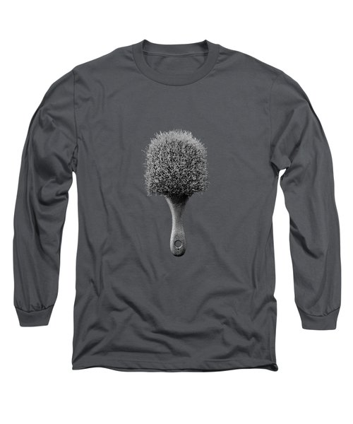 Scrub Brush Up Bw Long Sleeve T-Shirt