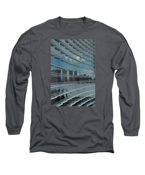 Sculpted Mirrors Long Sleeve T-Shirt by Michiale Schneider