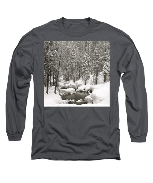 Sculpted Long Sleeve T-Shirt