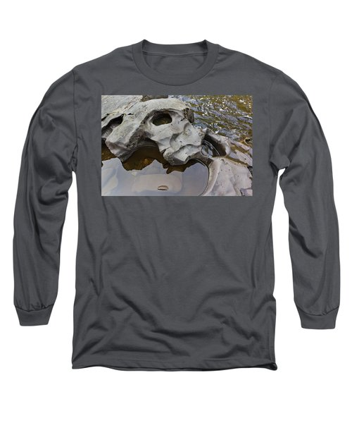 Long Sleeve T-Shirt featuring the photograph Sculpted Rock by Peter J Sucy