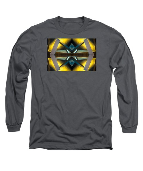 Sculpture On Southport N66v2 Long Sleeve T-Shirt by Raymond Kunst